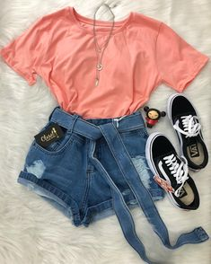 48 Super Ideas for clothes outfits spring Girls Fashion Clothes, Teen Fashion Outfits, Teenage Outfits, Retro Outfits, Outfits For Teens, Cute Outfits For Kids, Cute Summer Outfits, Cute Casual Outfits, Stylish Outfits