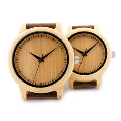 BOBO BIRD A0910 Lovers Minimalist Japanese Miyota Quartz Movement Bamboo Watch Handcrafted Wood Watches - Online Shopping for Watches