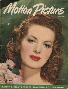 Vintage Movie Magazine Cover - Maureen O'Hara