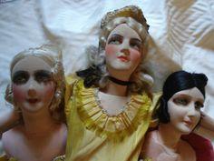 poupee-de-salon-et-pieces-pour-restauration-boudoir-dolls-spares-for-repair