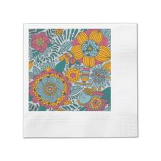 Avoid any messy dinners with Flowers napkins from Zazzle. Browse through our marketplace of paper and cloth napkins ranging in different styles and sizes. Paper Paper, Tissue Paper, Cloth Napkins, Paper Napkins, Monogrammed Napkins, Vine Design, Cheese Boards, Serving Trays, Lunch Boxes