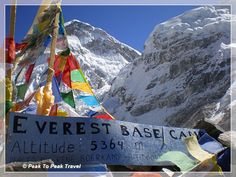 Peak to Peak Travel for Trekking & Mountaineering in Nepal Mount Everest Base Camp, Everest Base Camp Trek, Le Tibet, Peak To Peak, Everest Vbs, Top Of The World, Pics Art, Mountaineering, Trekking