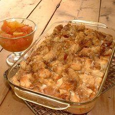 Weekend Brunch French Toast Apple Casserole   Kraft Recipes