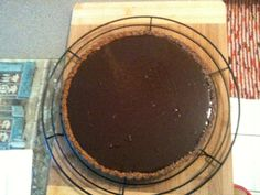 Chocolate Tart. Gluten-free, dairy-free, sugar-free, paleo sub honey for SF maple syrup