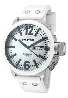 Price:$369.00 #watches TW Steel CE1037, When it's time to upgrade your timepiece collection, choose this gorgeous TW Steel men's leather watch. This is sure to be every men's favorite accessory.