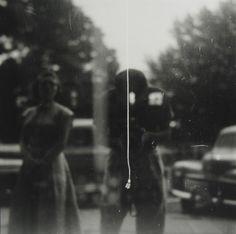 Saul Leiter. Self Portrait (variant) c1955