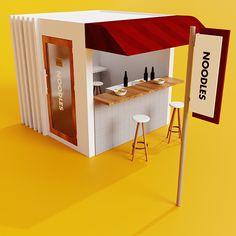 Cafe Shop Design, Kiosk Design, Cafe Interior Design, Food Stall Design, Food Cart Design, Stand Design, Booth Design, Stall Decorations, Outdoor Restaurant Design