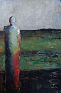 'Undiscovered' (c.2014) by artist Shelby McQuilkin. Oil on gallery wrapped canvas, 36 x 24 in. via the artist's site