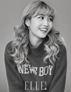 Momo [Twice] For Elle Magazine December Nayeon, Kpop Girl Groups, Kpop Girls, K Pop, Fanfiction, Rapper, Park Ji Soo, Yuta, Myoui Mina