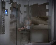 I soo want a shower like this one in the show Pretty Little Liars