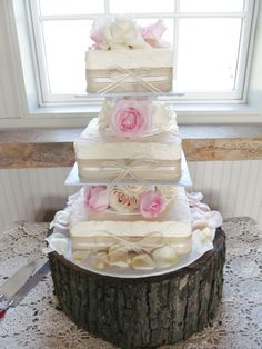 Ashly & Steve's, J.Annette's Cheesecake, cake flowers by {say i do} love weddings & events
