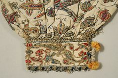 Undershirt Date: 16th century Culture: Italian Medium: linen, silk and metal thread