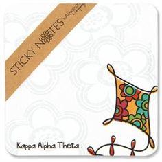 Kappa Alpha Theta Mascot Sticky Notes