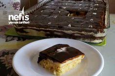 Muzlu -çikolatalı Pamuk Pasta