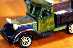 CLASSY vintage wooden truck...  I wish I could ride by CoolVintage