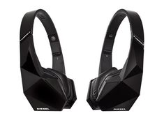 Monster Diesel Vektr On-Ear Headphones Feature Tri-Fold Design and High-Def Cable Triangular Lines  I haven't seen any other company make something like this yet.
