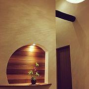 Entrance,ニッチ,和,和風,和モダン,グッドデザインに関連する他の写真