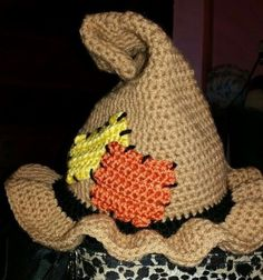 Resultado de imagen para crochet scarecrow hat pattern