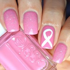 October is Breast Cancer Awareness Month!!!! Let's stop running from the cure and legalize cannabis because it CURES CANCER!!!! Instagram photo by nails_by_cindy #nail #nails #nailart