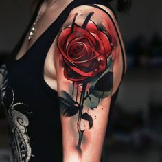 I did this #redrose #tattoo while #guestspotting over #warsaw #june2016. Special thanx to Olka for her trust..!!! with @starbritecolors @stigma_rotary and @skin2skin_ink_recover #rose #redrosetattoo #rosetattoo #watercolor #watercolorrose #watercolortattoo #flower #flowertattoo #red #redcolor #tattoocommunity #tattooed #inked #inkedgirls #tattooartist #artist #art #thegutter #thegutterathens #whosyouruncl #unclpaul #unclpaulknows #starbriteproteam
