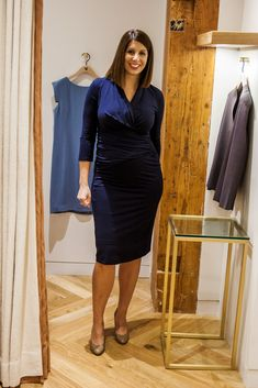 834a046f221 Casey dress from MM LaFleur. Stylish non-maternity maternity office wear  that you can