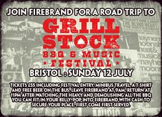 You do not want to miss this! Roadtrip with us to Bristol Grillstock BBQ and music festival. www.facebook.com/events/949116258432099/