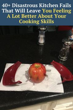 after seeing these photos, you'll realize you're not that bad in the kitchen - send this to your friends to remind them of that!