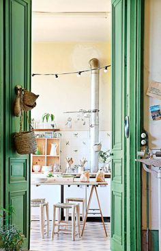 Renovated French Chateau For Green + Plant Lovers + Natural Light Kitchens  + Tall Ceilings