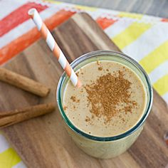 This Pumpkin Spice Breakfast Shake is a complete breakfast in a glass. So yummy you'll forget it's good for you!