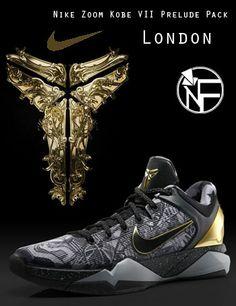 "Nike Zoom Kobe VII Prelude Pack ""London"""