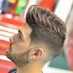 14 Popular Haircuts For Men to Copy in 2019 ~ Mens Hairstyles Popular Mens Haircuts, Stylish Haircuts, Haircuts For Men, 2018 Haircuts, Popular Hairstyles, Short Hair With Beard, Hair And Beard Styles, Side Part Mens Haircut, Hair Styles 2016