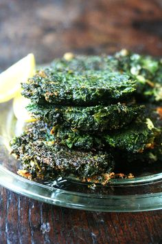 Crispy on the edges, creamy in the center, these little chard fritters, squeezed with lemon, make the most lovely Meatless Monday meal. Radish Greens, Turnip Greens, Vegetable Recipes, Vegetarian Recipes, Chard Recipes, Vegetable Dish, Cabbage Recipes, Real Food Recipes, Cooking Recipes