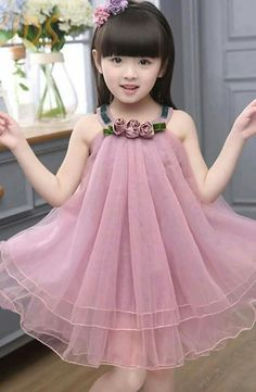 Girls fashion baby girl frocks, kids frocks, frocks for girls, little g Kids Summer Dresses, Baby Girl Party Dresses, Dresses Kids Girl, Cute Dresses, Girl Outfits, Flower Girl Dresses, Frock Design, Kids Frocks Design, Kids Gown