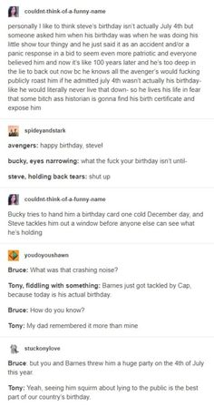 Is tony a jerk is Bucky a jerk to but think about this Steve is the biggest jerk. - Is tony a jerk is Bucky a jerk to but think about this Steve is the biggest jerk… Is tony a jer - Marvel Avengers, Marvel Jokes, Funny Marvel Memes, Dc Memes, Avengers Memes, Marvel Dc Comics, Avengers Headcanon, Avengers Imagines, Avengers Cast