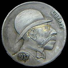 James Stewart - Wormy Antique Coins, Jewelry Collection, Buffalo, Carving, Antiques, Antiquities, Antique, Wood Carvings, Sculptures
