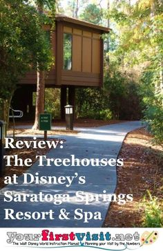 Review - The Treehouses at Disney's Saratoga Springs Resort and Spa from yourfirstvisit.net | Disney Resorts | Disney Resorts Florida | Disney Resorts Orlando | Disney World Resorts | Disney World Hotels | Walt Disney World Hotels |