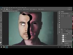 Tutorial Photoshop  Portrait Mask Illusion Dengan Photoshop CC 2018