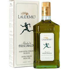 Laudemio Frescobaldi EVOO, Tuscan Olive Oil. This olive oil has a sharp peppery taste. Unique and delicious.