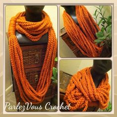 No matter how u decide to wear it-scarf neck warmer or necklace- this versatile accessory is the ideal accent to add flair to any outfit.