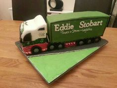 Eddie stobart lorry cake Cakes For Men, Host A Party, Sweets, Sweet Pastries, Goodies, Baking, Candy, Deserts