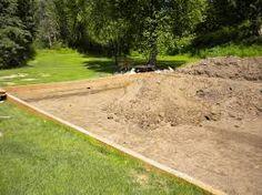 Resultado de imagem para backyard sand volleyball court