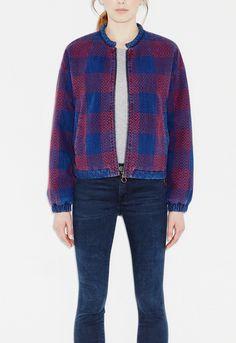 MiH Jeans | Blue Selvy Jacket | Lyst