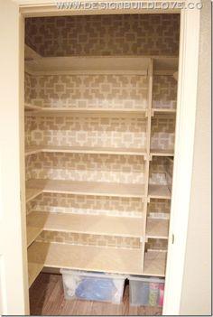 custom pantry on pinterest shelves spaces and kitchens. Black Bedroom Furniture Sets. Home Design Ideas