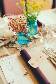 Table/ テーブル / Table arrange / テーブルアレンジ / 机 / arrange/  装飾 / 飾り / 装花 /crazy wedding / ウェディング / 結婚式 / オリジナルウェディング/ オーダーメイ