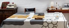 http://www.houzz.com/photos/896389/Modern-Linen-Tablecloth-by-Huddleson-modern-tabletop-los-angeles