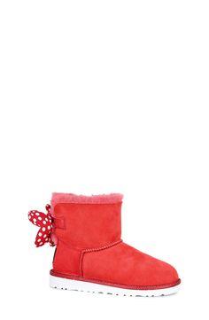 UGG® Disney® 'Sweetie Bow' Boot (Walker, Toddler, Little Kid