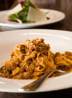 without Spaghetti Ragout Bolognese, Pasta Recipes, Cooking Recipes, Ragu Recipe, One Pot Pasta, Spaghetti, Italian Dishes, Gnocchi, Food And Drink