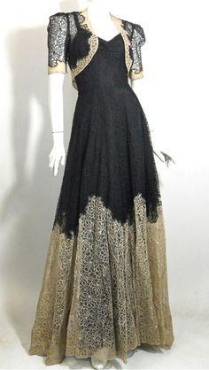 30s: dress vintage dress  This is a gorgeous dress. The lace is so detailed.
