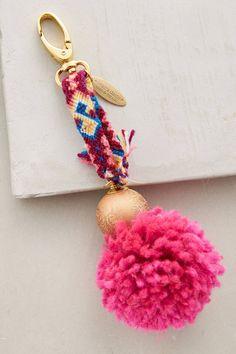 Pommed Friendship Keychain - anthropologie.com | Pinned by topista.com