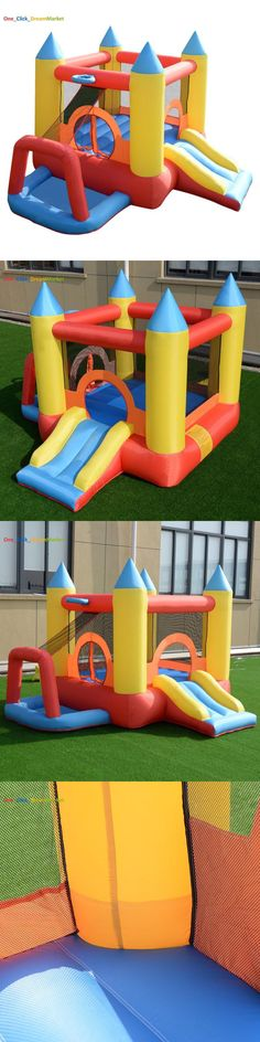 Inflatable Bouncers 145979: Inflatable Kids Bouncer Jump Castle Indoor Outdoor Yard Slide Bounce Play House -> BUY IT NOW ONLY: $168.83 on eBay!
